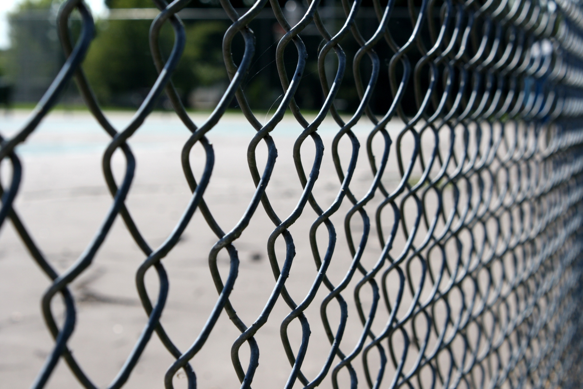 Chain Link Fence Wallpaper: Smithers Feed Store - Smithers, BC